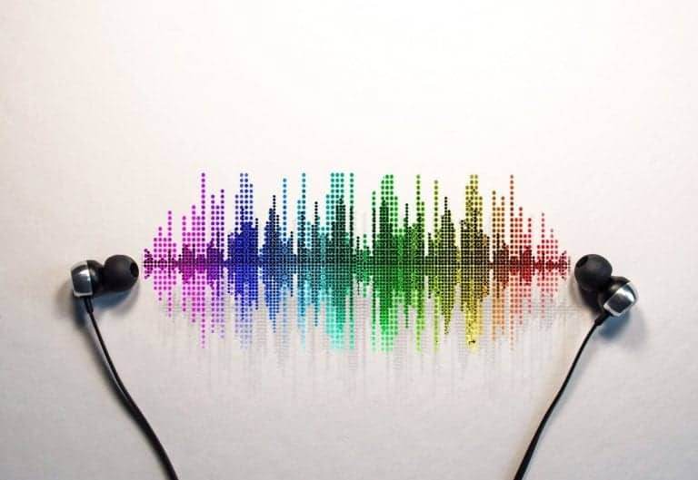 Headphones with visual sounds